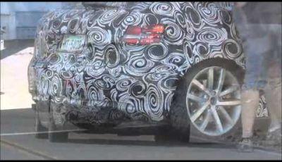 Audi S3 video spia dalla Death Valley