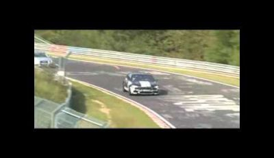 BMW M5 video spia