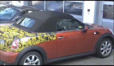 Mini Roadster spy video al Nurburgring