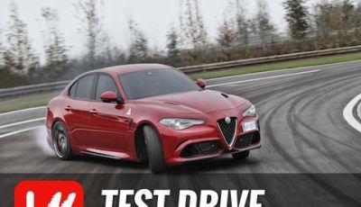 Alfa Romeo Giulia Quadrifoglio 2016: Prova in pista!