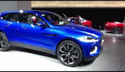 Jaguar C-X17 al  Salone dell'Auto di Francoforte 2013