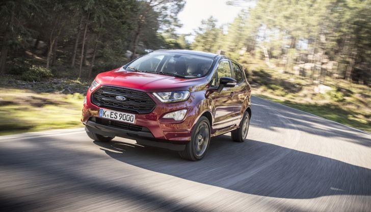 Ford EcoSport nuova generazione, il SUV compatto pratico e tecnologico - Foto 1 di 32