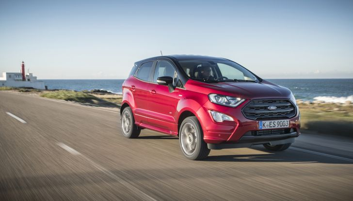 Ford EcoSport, il SUV compatto con Intelligent All-Wheel Drive - Foto 5 di 32