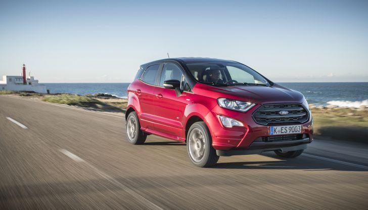 Ford EcoSport nuova generazione, il SUV compatto pratico e tecnologico - Foto 5 di 32