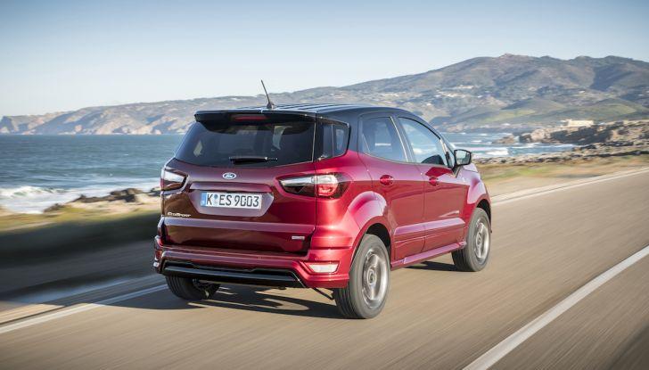 Ford EcoSport nuova generazione, il SUV compatto pratico e tecnologico - Foto 7 di 32
