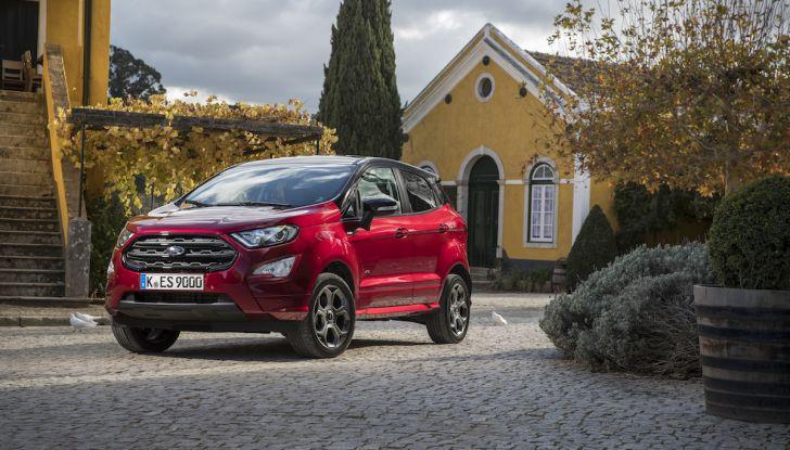 Ford EcoSport nuova generazione, il SUV compatto pratico e tecnologico - Foto 9 di 32