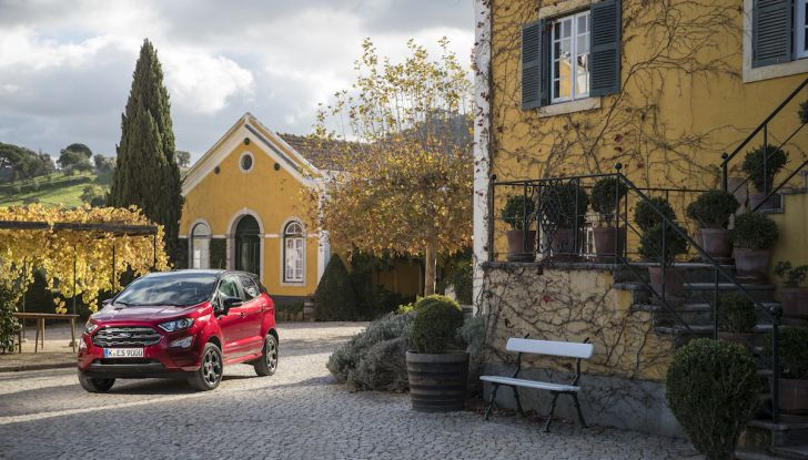 Ford Ecosport: i tappetini nascono dalle bottiglie di plastica riciclata - Foto 10 di 32