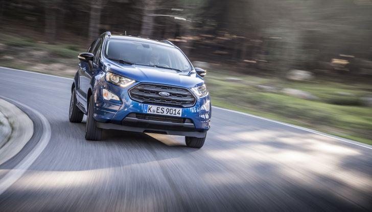 Ford EcoSport nuova generazione, il SUV compatto pratico e tecnologico - Foto 14 di 32