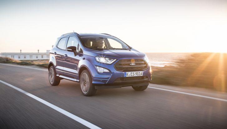 Ford EcoSport nuova generazione, il SUV compatto pratico e tecnologico - Foto 15 di 32