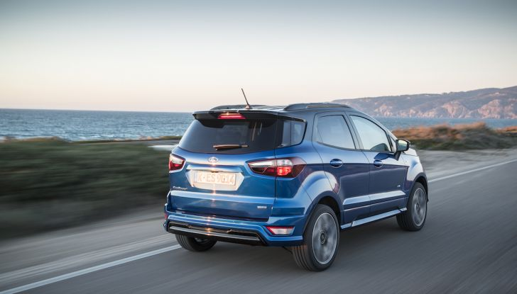 Ford EcoSport nuova generazione, il SUV compatto pratico e tecnologico - Foto 16 di 32