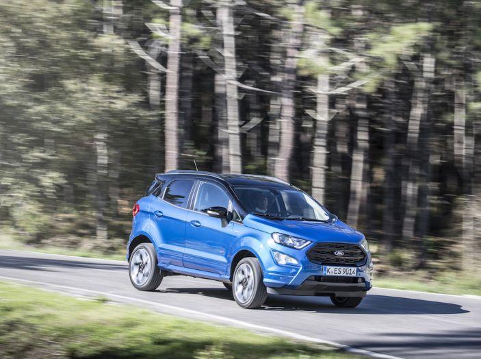 Ford EcoSport nuova generazione, il SUV compatto pratico e tecnologico - Foto 19 di 32