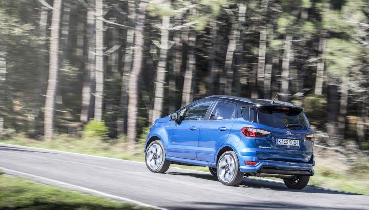 Ford EcoSport nuova generazione, il SUV compatto pratico e tecnologico - Foto 20 di 32