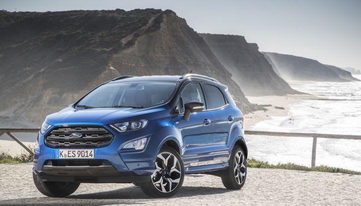 Ford EcoSport nuova generazione, il SUV compatto pratico e tecnologico - Foto 21 di 32