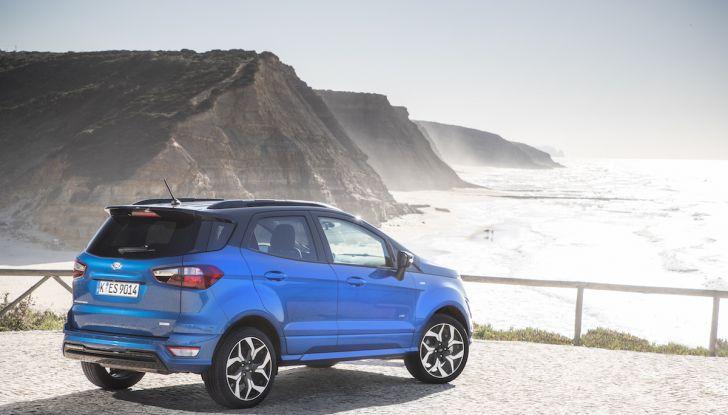 Ford EcoSport nuova generazione, il SUV compatto pratico e tecnologico - Foto 22 di 32