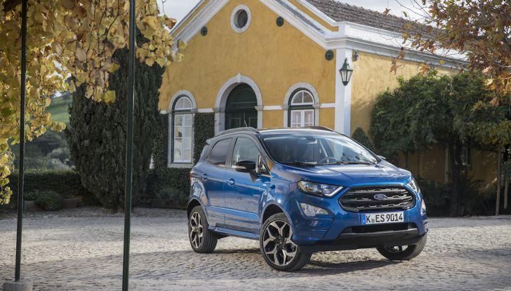 Ford EcoSport nuova generazione, il SUV compatto pratico e tecnologico - Foto 4 di 32