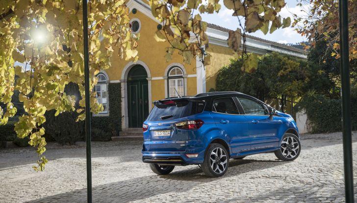 Ford EcoSport nuova generazione, il SUV compatto pratico e tecnologico - Foto 23 di 32