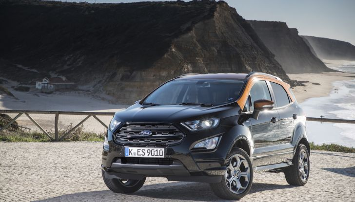 Ford EcoSport nuova generazione, il SUV compatto pratico e tecnologico - Foto 26 di 32