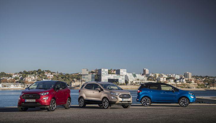 Ford EcoSport nuova generazione, il SUV compatto pratico e tecnologico - Foto 27 di 32