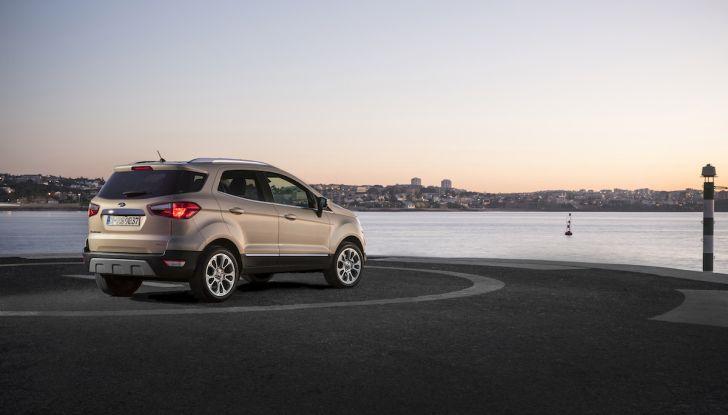 Ford EcoSport nuova generazione, il SUV compatto pratico e tecnologico - Foto 28 di 32