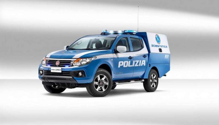 Fiat Fullback, una flotta consegnata alla Polizia Scientifica - Foto 5 di 7