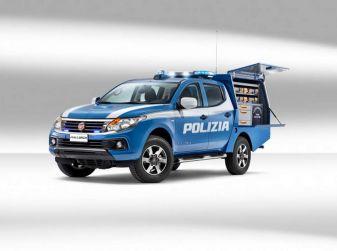 Fiat Fullback, una flotta consegnata alla Polizia Scientifica