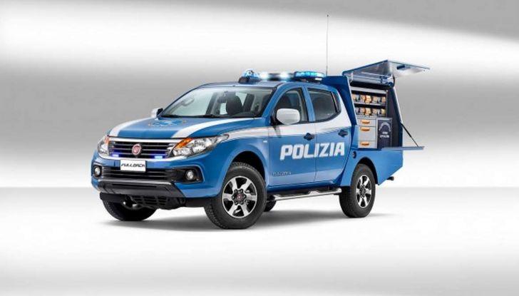 Fiat Fullback, una flotta consegnata alla Polizia Scientifica - Foto 1 di 7
