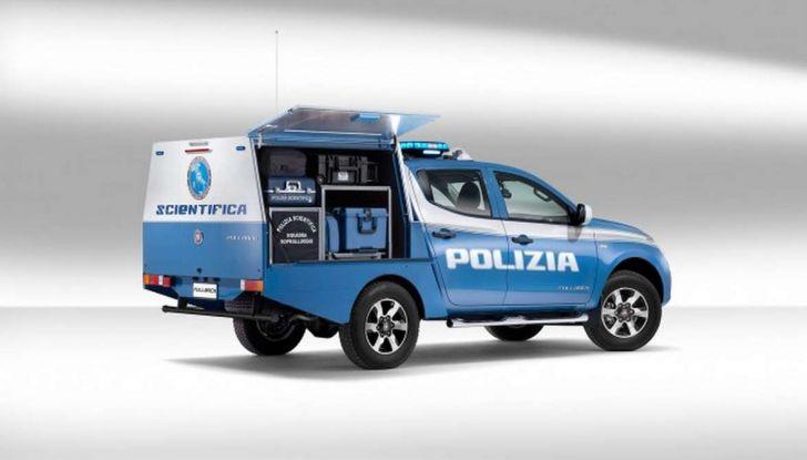 Fiat Fullback, una flotta consegnata alla Polizia Scientifica - Foto 2 di 7