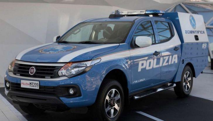 Fiat Fullback, una flotta consegnata alla Polizia Scientifica - Foto 3 di 7