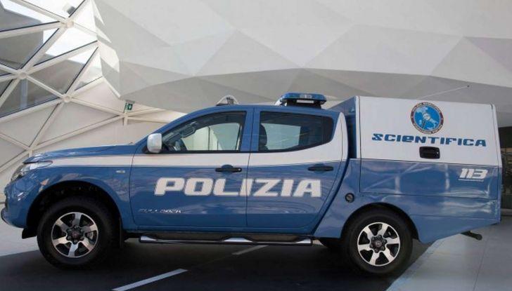 Fiat Fullback, una flotta consegnata alla Polizia Scientifica - Foto 6 di 7