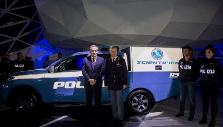 Fiat Fullback, una flotta consegnata alla Polizia Scientifica - Foto 7 di 7