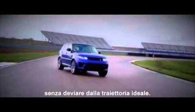 Range Rover Sport SVR e le sue qualità in termini di prestazioni