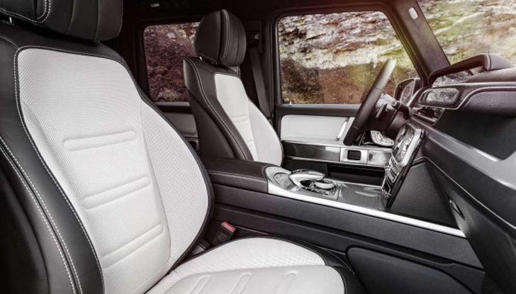 Gli interni della nuova Mercedes Classe G 2018 svelati ufficialmente - Foto 8 di 9