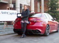 Gli scarichi dell'Alfa Romeo Giulia Quadrifoglio diventano musica