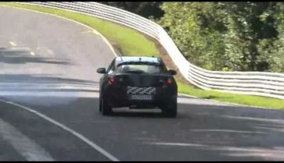 Video spy della Opel Astra OPC