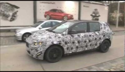 BMW Serie 1 GT video spia
