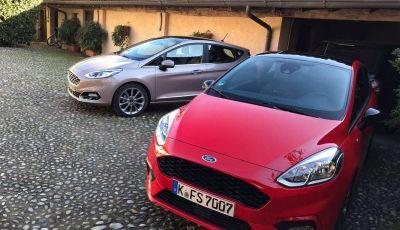 Prova su strada della Nuova Ford Fiesta Vignale