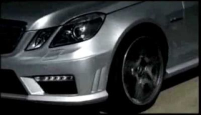 Video Mercedes Classe E 63 AMG