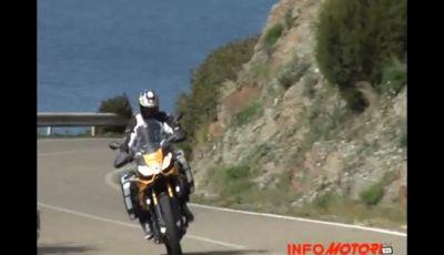 Aprilia Caponord Rally 1200 Test Ride