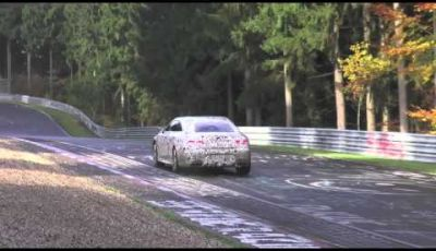 Mercedes S 63 AMG Coupè nuovo video spia