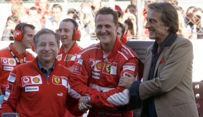 Montezemolo parla delle condizioni di Schumacher