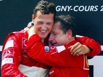 Jean Todt: Micheal Schumacher, timido campione, continua a lottare