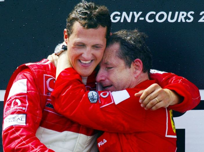 Jean Todt: Micheal Schumacher, timido campione, continua a lottare - Foto 1 di 9