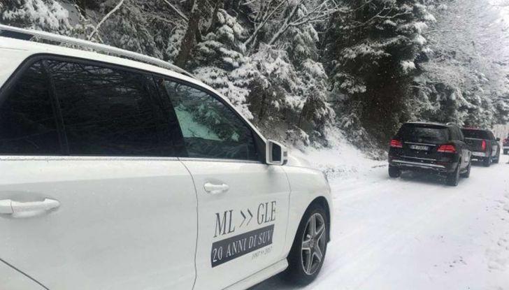 La gamma SUV e Mercedes GLE protagoniste di #SUVAttack - Foto 14 di 20