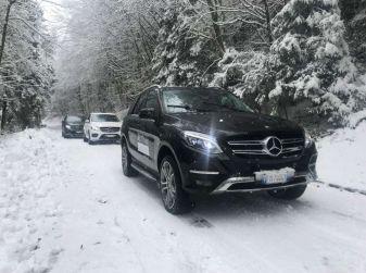 La gamma SUV e Mercedes GLE protagoniste di #SUVAttack