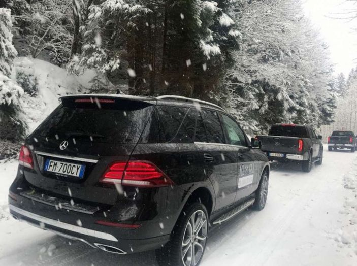 La gamma SUV e Mercedes GLE protagoniste di #SUVAttack - Foto 20 di 20