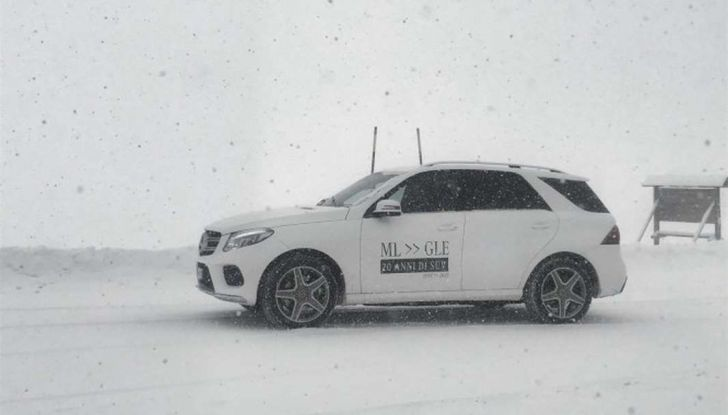 La gamma SUV e Mercedes GLE protagoniste di #SUVAttack - Foto 6 di 20