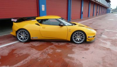 Lotus Evora S: Tommy Maino On Track