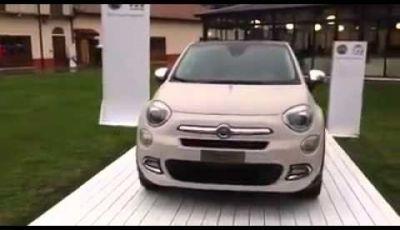 Fiat 500X anteprima nazionale a Balocco