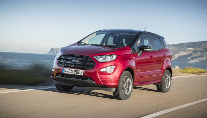 Ford EcoSport nuova generazione, il SUV compatto pratico e tecnologico - Foto 30 di 32