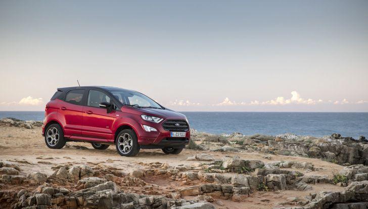 Ford EcoSport nuova generazione, il SUV compatto pratico e tecnologico - Foto 31 di 32